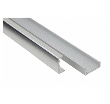 Профиль торцевой C-образный для плиты 16 мм, алюминиевый L=3000