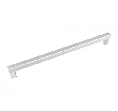 Ручка рейлинговая Virno Lines 409/320 никель браш (НОВИНКА)