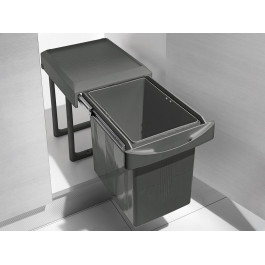 Відро 16л висувне для сміття INOXA ардезія