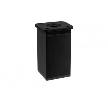 Ножка мебельная регулируемая квадратная GIFF NA02 Н-80 черный