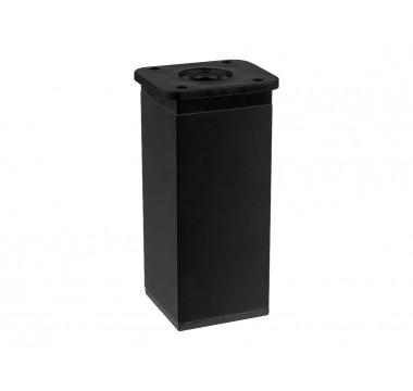 Ножка мебельная регулируемая квадратная GIFF NA02 Н-100 40*40 черный