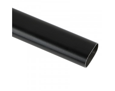 Труба овальная L=3000 30*15 черный матовый M11080