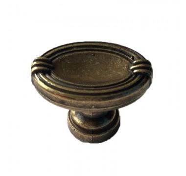 Ручка кнопка DGG32G4/GG3205 античная бронза