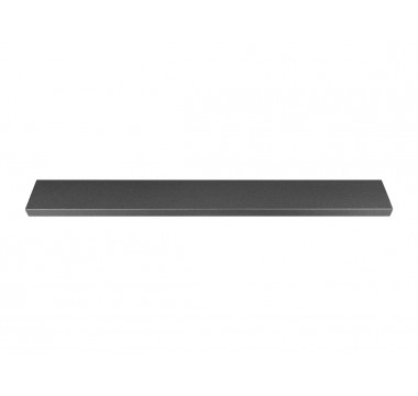 Ручка профильная Gamet UA123-232-L1 структурный графит