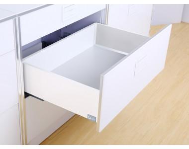 Выдвижной ящик FlatBox L=400 H=116 белый (GIFF)