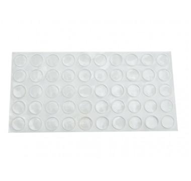 Демпфер (отбойник) силиконовый самоклеющийся GIFF прозрачный (упаковка 100 штук)