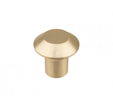 Ручка кнопка GIFF 3/301 матовое золото