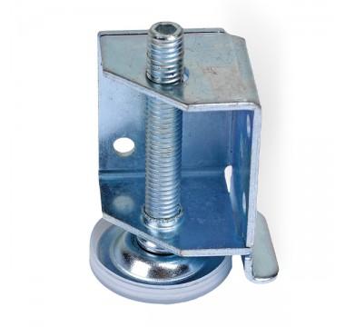 Ножка мебельная регулируемая для шкафов купе H=50мм