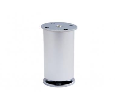 Ножка мебельная регулируемая цилиндрическая GIFF NA11 T1 H100/D50 алюминий
