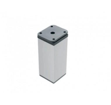 Ножка мебельная регулируемая цилиндрическая GIFF NA03 H-50 D40 алюминий
