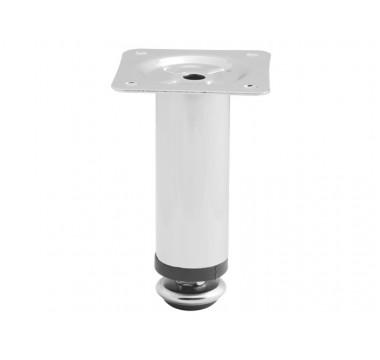 Ножка мебельная регулируемая NL05/H100/D30 хром